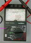 Utilisation d'un Multimètre Métrix MX430