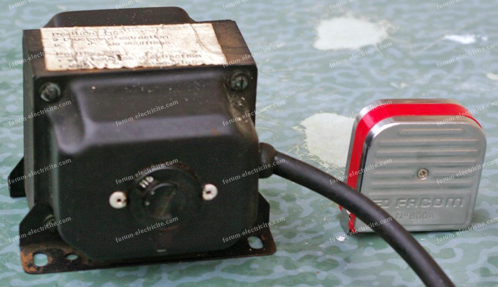 autotransformateur VMC