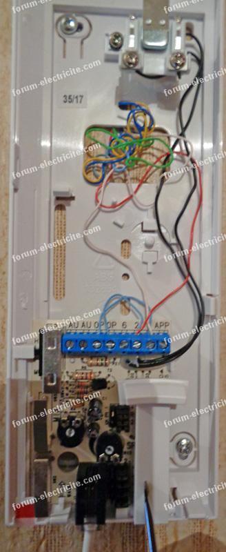 brancher interphone Bitron AV1407/010
