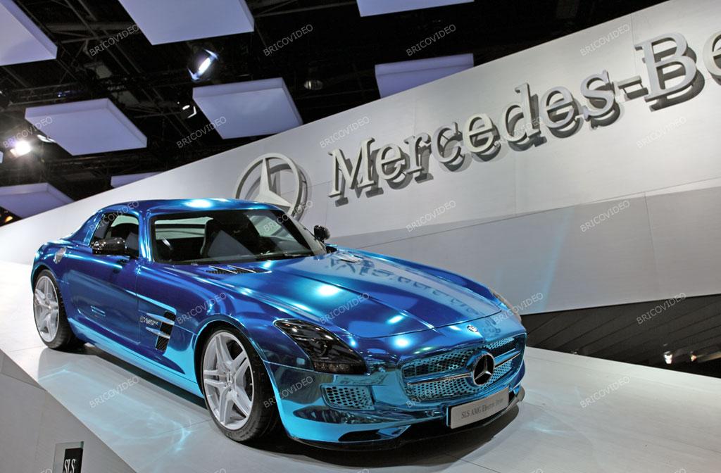 2012 Mercedes électrique SLS AMG