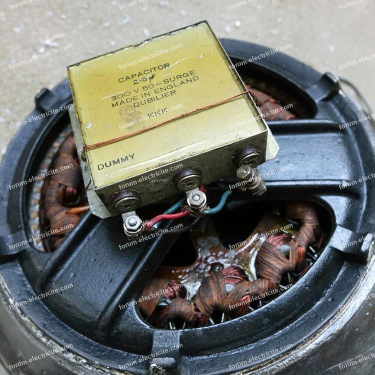 brancher variateur ventillateur de 1940