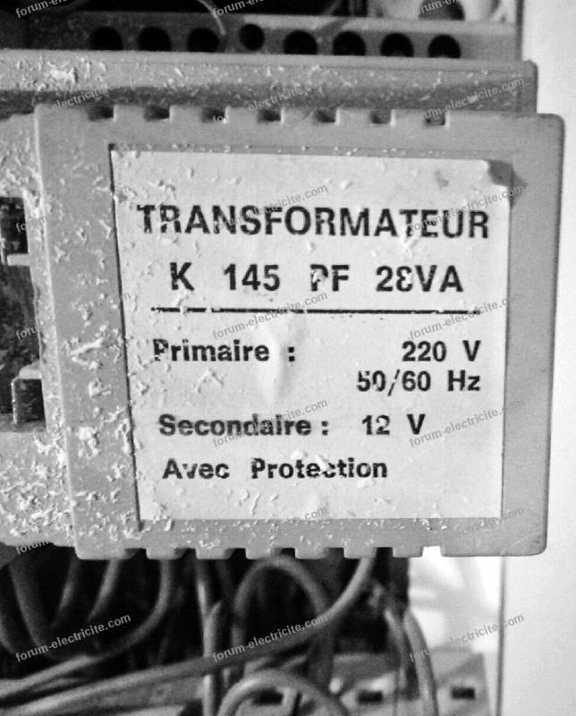 remplacer transfo 12v par un transfo 15v