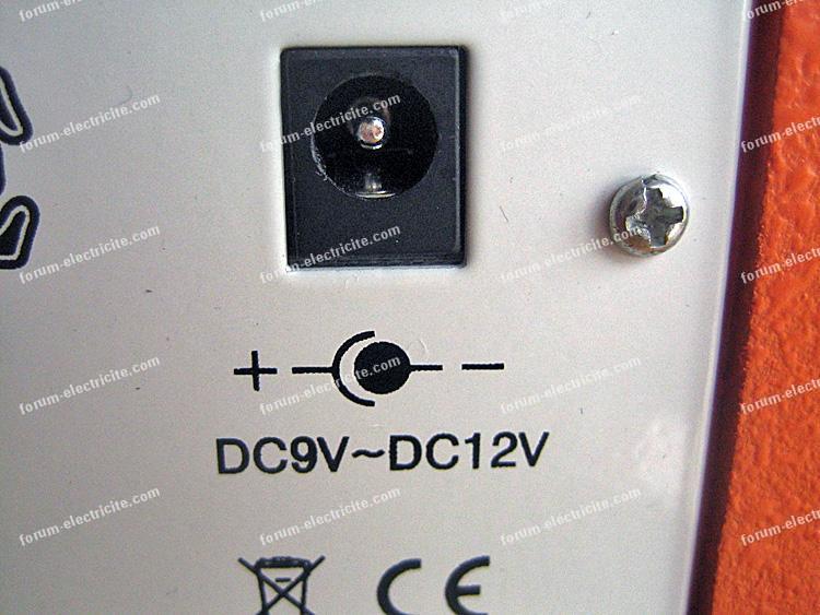adaptateur secteur 12 volts