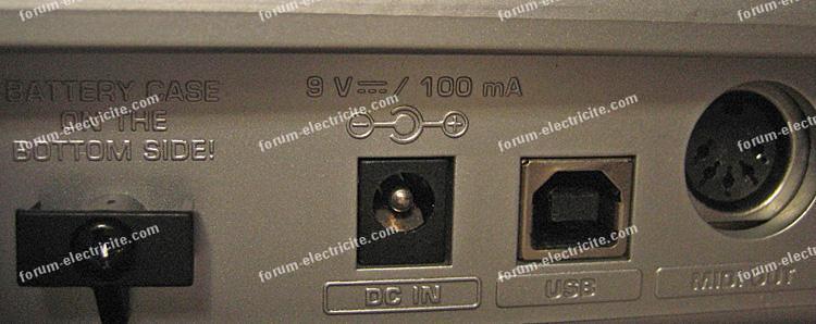 adaptateur secteur 9 volts