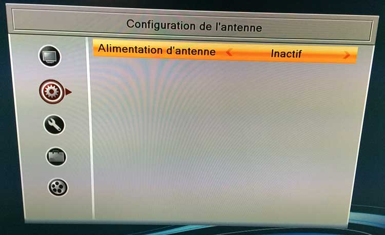 alimentation antenne tv tnt