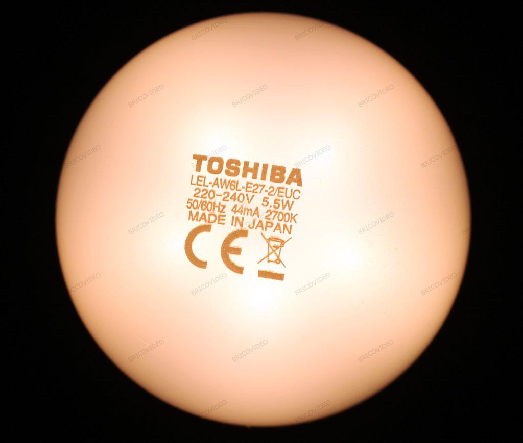 ampoule led Toshiba 2700k