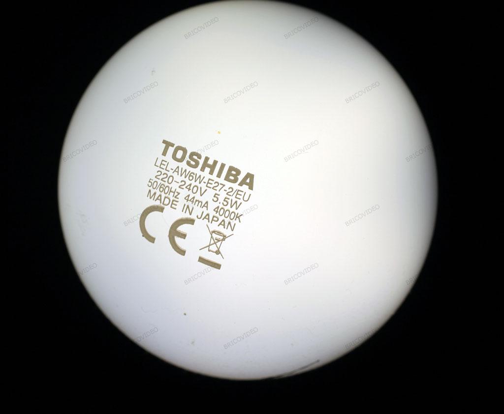 ampoule led Toshiba 4000K