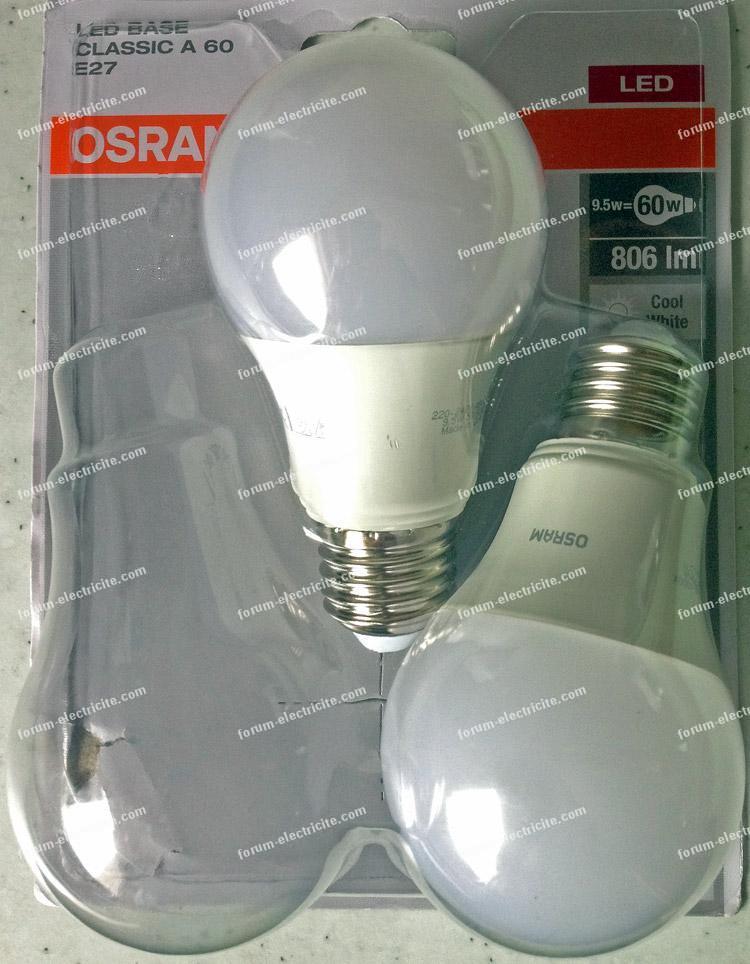 Bonne ampoule LED Osram