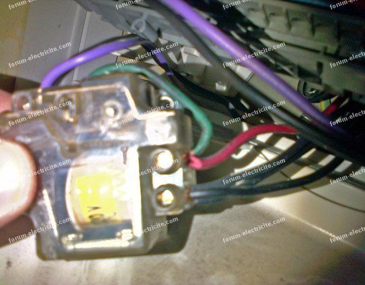 ancien montage télérupteur