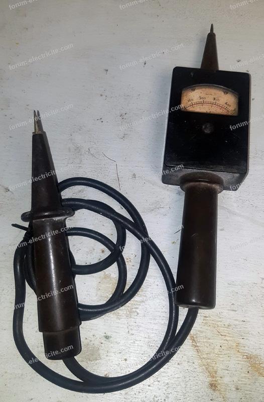 voltmètre ancien