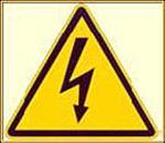 logo sécurité triangulaire jaune
