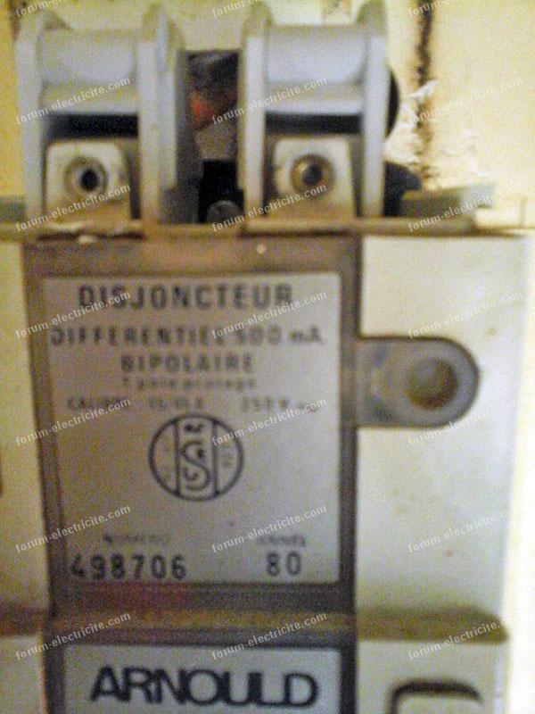 branchement PH/N sur un DB Arnould S80
