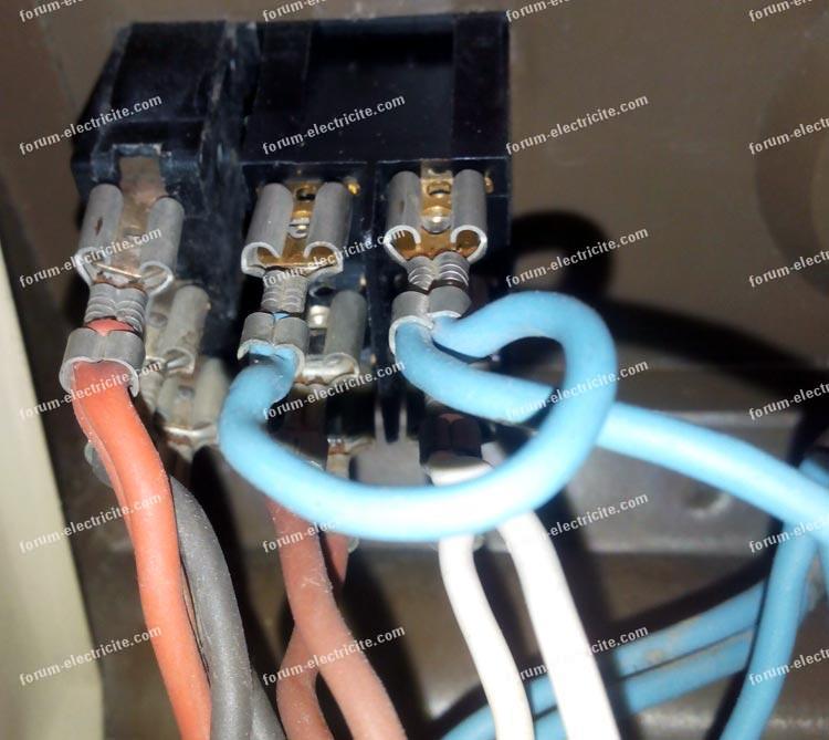 arrière contacteur radiateur électrique