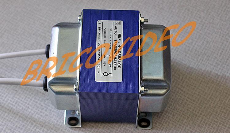 auto transformateur 750va