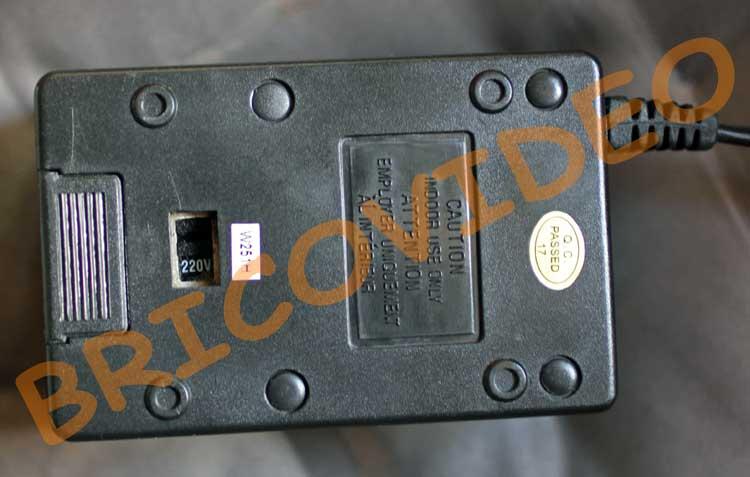 autotransformateur 230 volts 110 volts