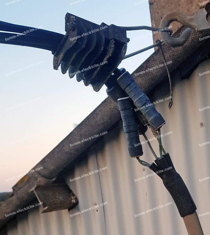 avis état câble électrique d'arriver