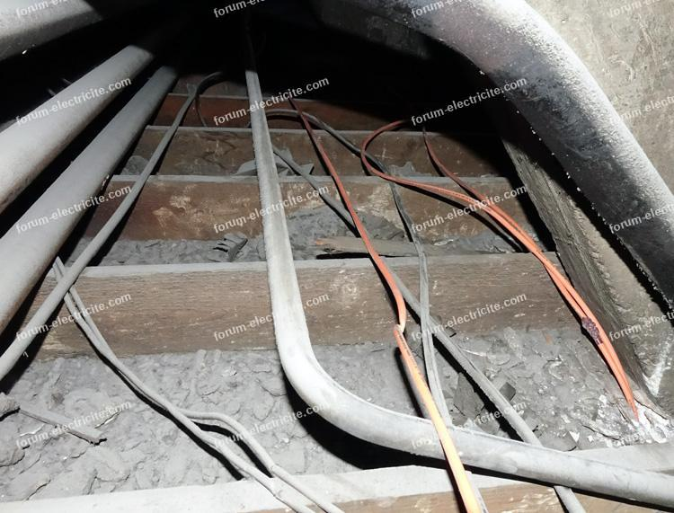 avis passage câbles dans un ERP