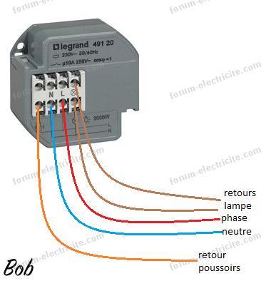 Question Electricite Conseils Pour Remplacer Telerupteur Gm 45000
