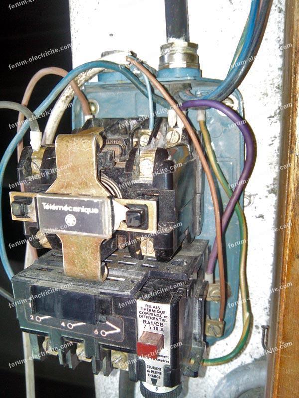 branchement boitier de commande compresseur 01