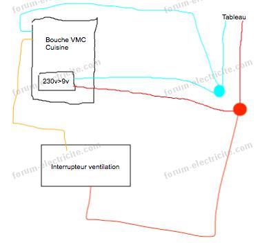 Probl me branchement bouche hygroreglable aldes - Branchement electrique vmc ...