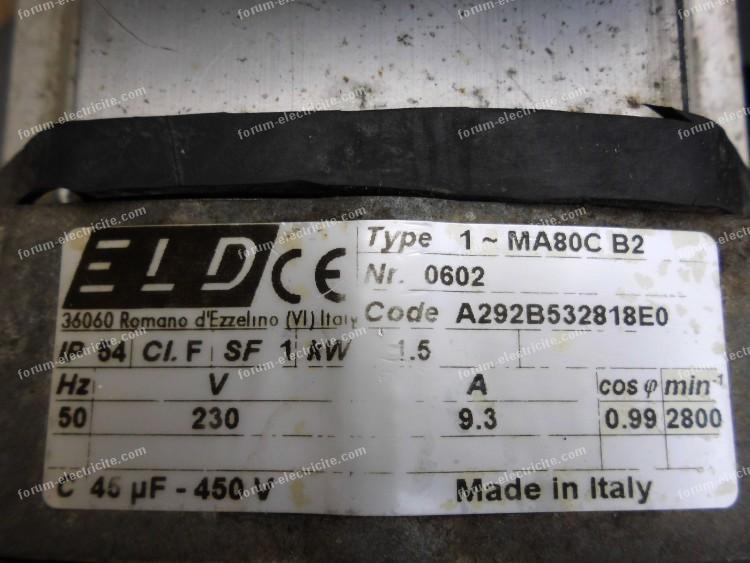 branchement condensateur compresseur 05