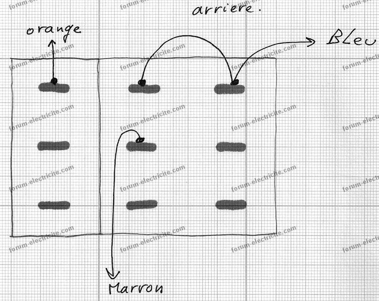 branchement contacteur 3 positions radiateur électrique