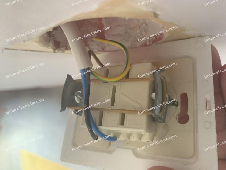 branchement double interrupteur Arnould 1001