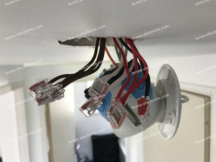 branchement électrique antenne TV