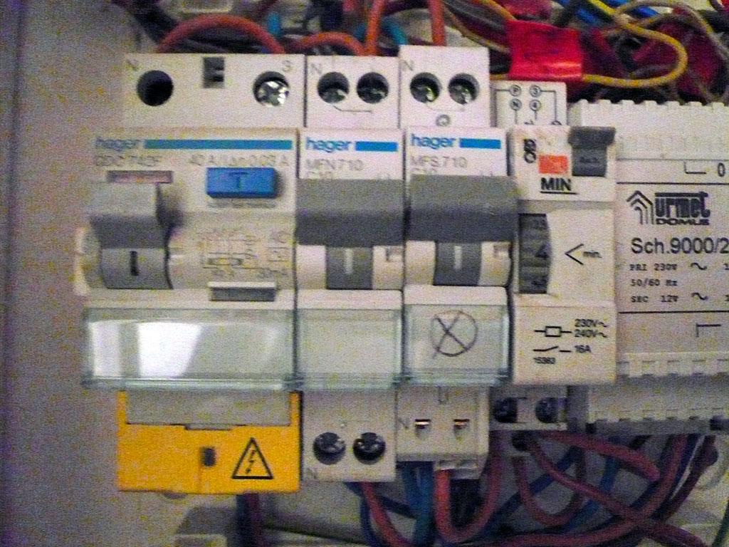 branchement electrique cave 02