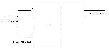 branchement électrique Va-et-vient 3 interrupteurs