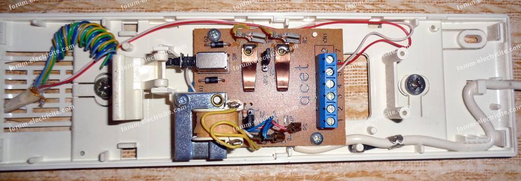 rrancher interphone AV1407/010