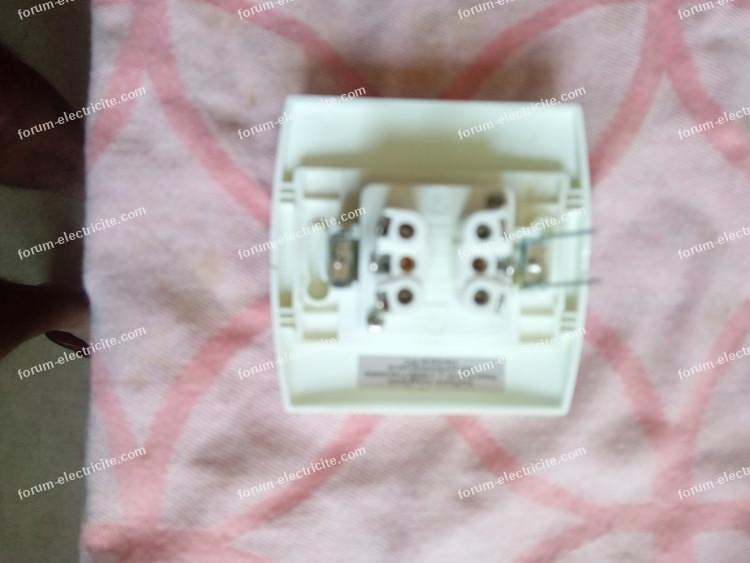 branchement interrupteur double