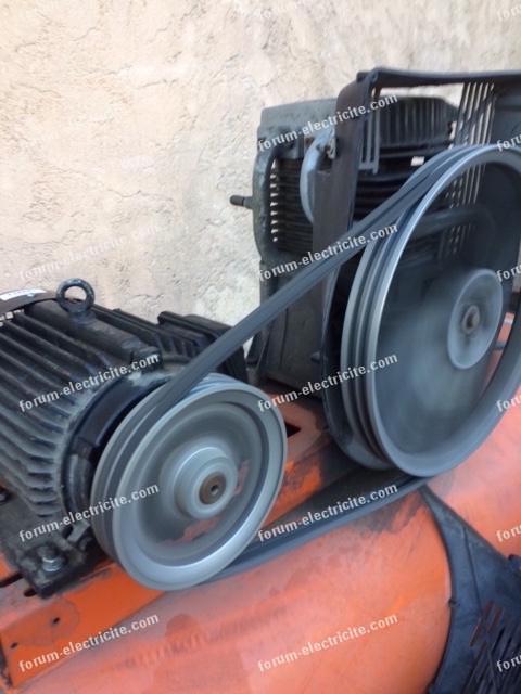 branchement moteur de 4kW