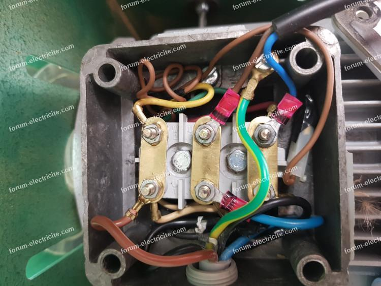 branchement moteur Kity 664