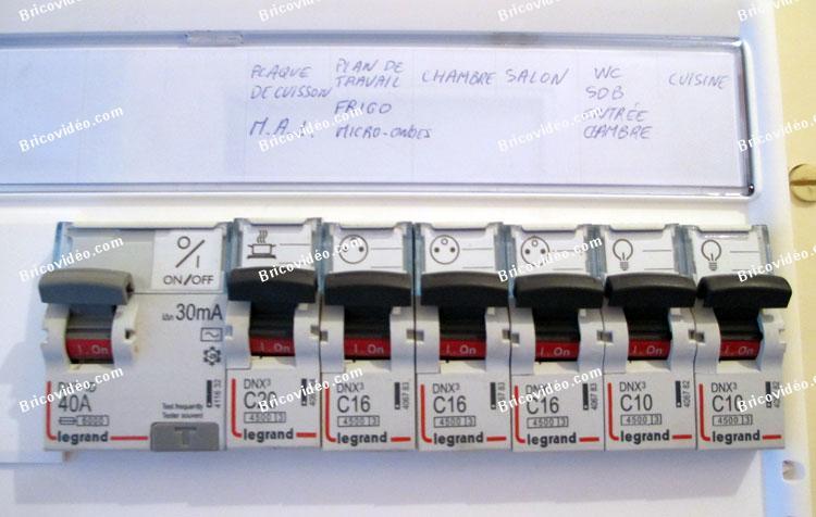 Conseils branchement tableau électrique
