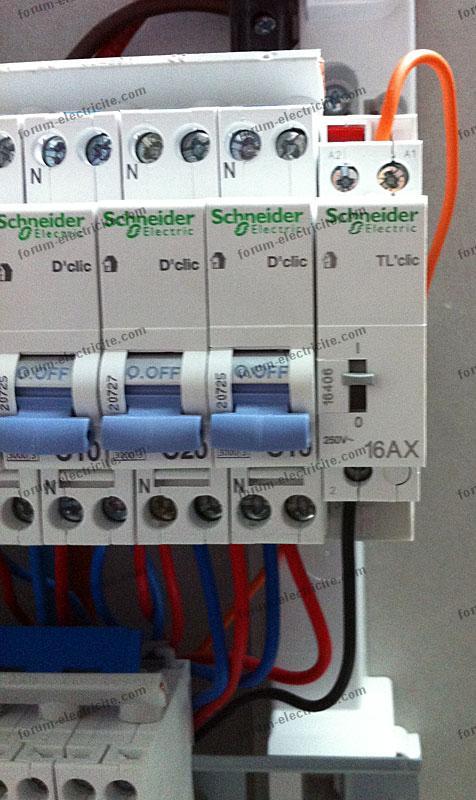 Bricovid o panne t l rupteur ne fonctionne qu 39 au tableau - Catalogue armoire electrique schneider ...