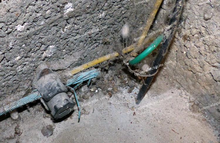 branchement terre installation électrique