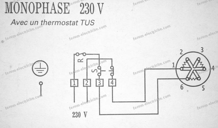 Schema thermostat chauffe eau - Comment tester un thermostat de cumulus ...