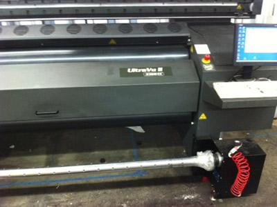 Brancher compresseur sur imprimante triphasée