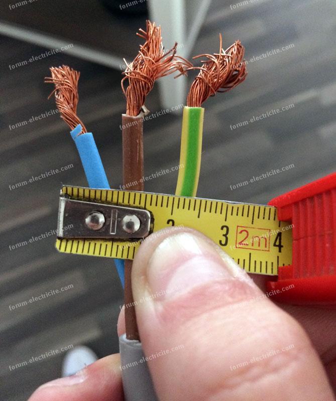 câbles cuisinière Brandt KIP711W sur prise normale