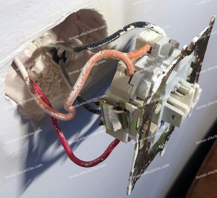 brancher double interrupteur