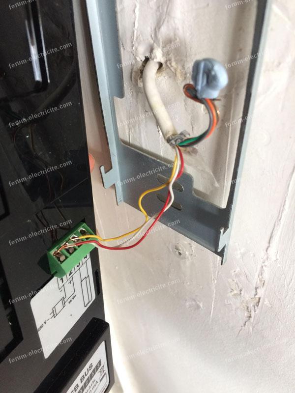 Forum Électricité - Conseils branchements interphone Extel CB Bus