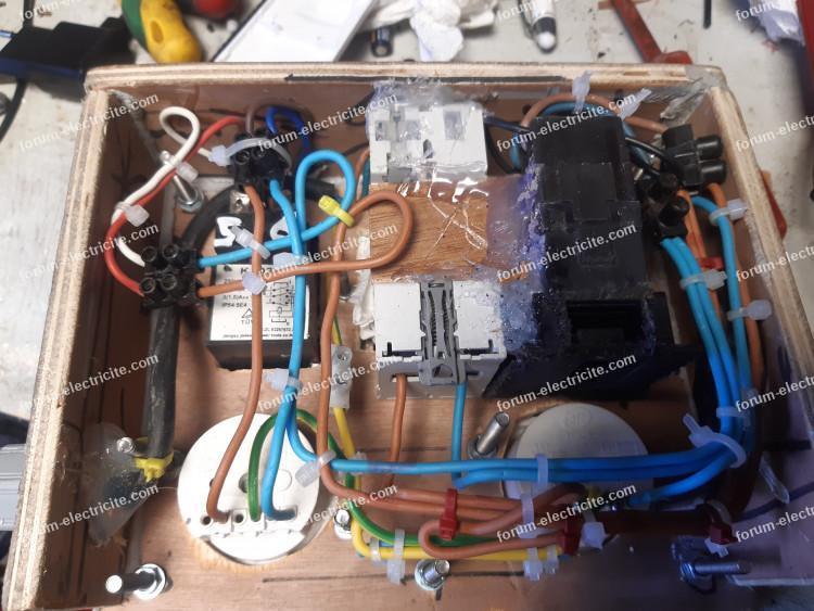 brancher relais KJD 22