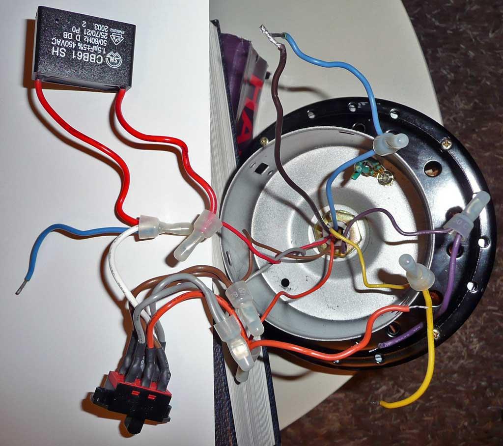 conseils pour modifier un moteur de ventilateur plafond bricolage lectricit. Black Bedroom Furniture Sets. Home Design Ideas