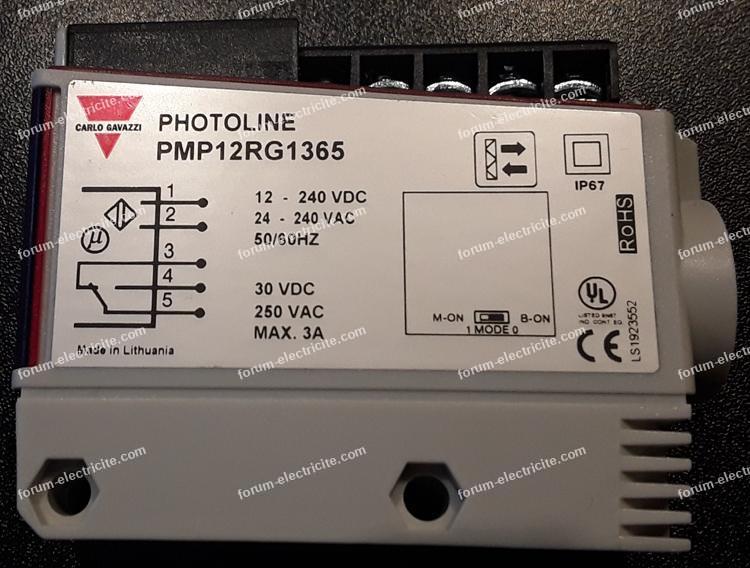 Bricovideo Forum électricité. Branchement kit photocellule