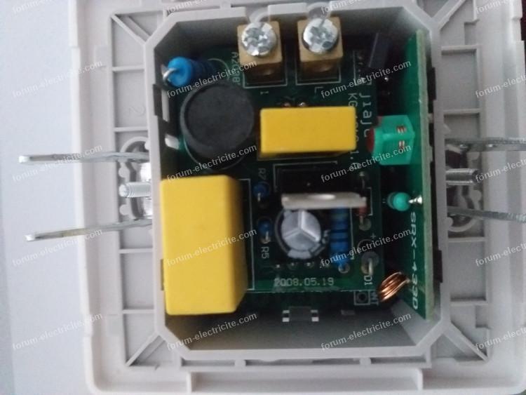 bricovideo brancher émetteurs sans fil sur double interrupteur