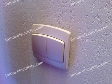 brancher interrupteur ventilateur plafond