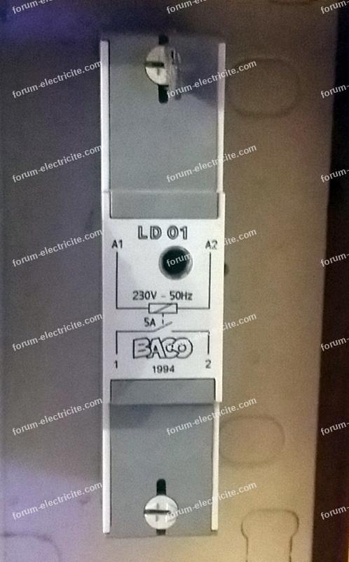 relais découpleur Baco LD01