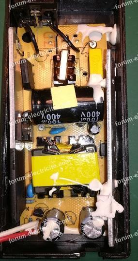 réparation adaptateur AC/DC