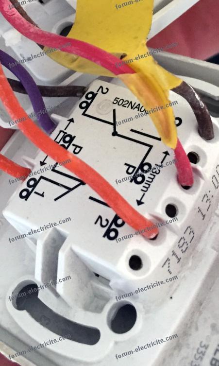 câblage 2 circuits Va et Vient